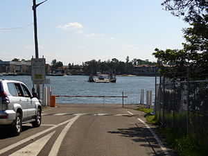 Mortlake Ferry - The Putney approach to the Mortlake Ferry