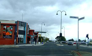 Morwell, Victoria - Corner of Hazelwood and Commercial Roads, Morwell