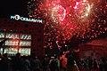 Moscow, VDNKh, fireworks over the Moskvarium building (21060215668).jpg