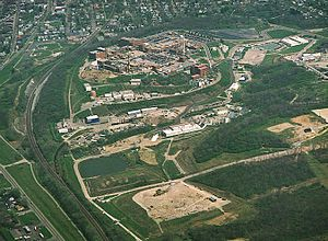 Mound Laboratories - Image: Mound Facility Aerial View 001