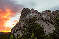 Mount Rushmore during sunset.jpg