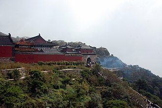Mount Tai - Temple complex at the top of Mount Tai