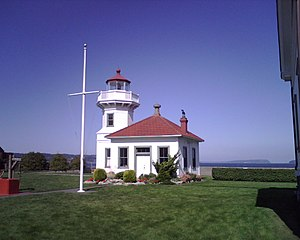 Mukilteo Light - Image: Mukilteo Lighthouse WA