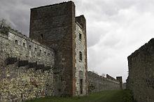 Mura settentrionali di Verona, costruite da Cangrande e ammodernate dagli austriaci nell'Ottocento