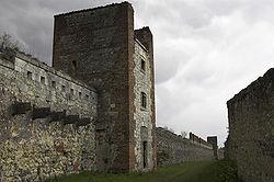 Mura settentrionali di Verona, costruite dagli Scaligeri e riammodernate dagli austriaci nell'Ottocento