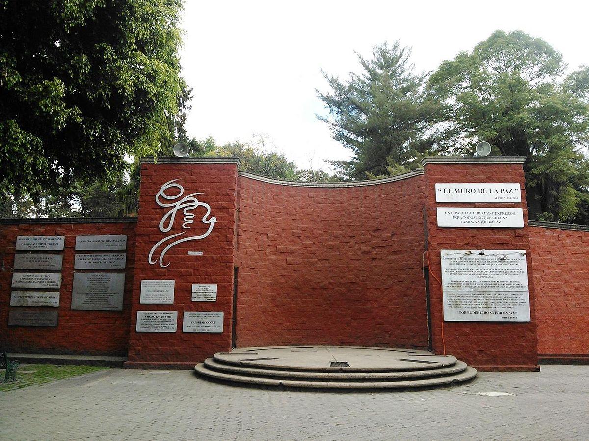 Archivo Muro De La Paz Jpg Wikipedia La Enciclopedia Libre