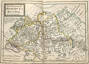 1715 in Russia - Muscovy1715