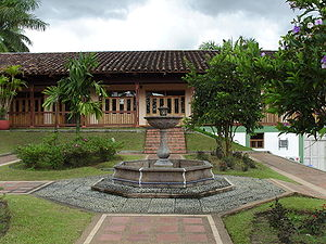 Quindío Department - Coffee museum in Colombian National Coffee Park
