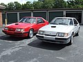 My 86 Mustang SVO's.JPG