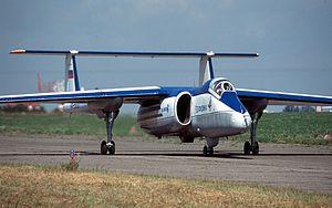 Myasishchev M-55 - Myasishchev M-55 Geophysica at MAKS Airshow 2001