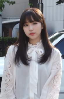 Myoui Mina at the KBS Music Bank 2019.png
