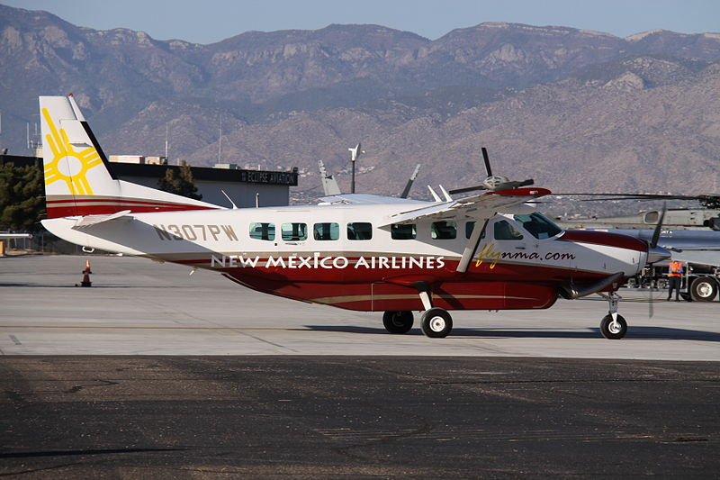 File:N307PW Cessna Ce.208B New Mexico Airlines (8736382206).jpg