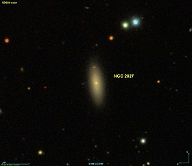 Image illustrative de l'article NGC 2827