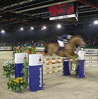 Grand Prix show jumping.