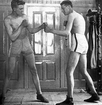 Karel Miljon - Image: NK boksen voor amateurs 1924