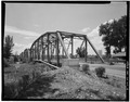 NORTH PORTAL AND EAST WEB. VIEW TO SOUTHWEST. - Delta Bridge, Spanning Gunnison River on U.S. 50, Delta, Delta County, CO HAER COLO,15-DELT,1-6.tif