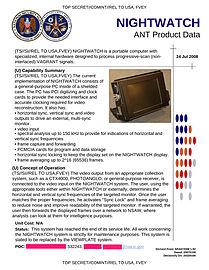 NSA NIGHTWATCH