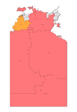 Northern Territory general election, 2020 - Image: NT Election Results 2016