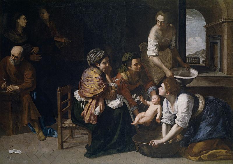 File:Nacimiento de San Juan Bautista (Artemisia Gentileschi).jpg