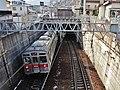 Nagano Electric Railway Zenkojishita - Hongo.jpg