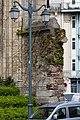 Naissance du mur inachevé du collatéral est de l'église Saint-Aubin en Notre-Dame-de-Bonne-Nouvelle, Rennes, France.jpg