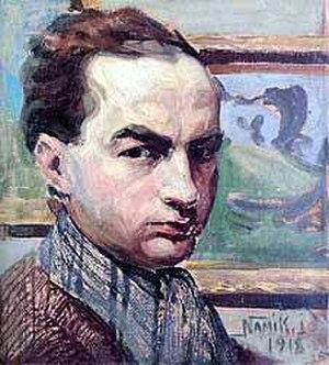 Namık İsmail - Self-portrait (1918)