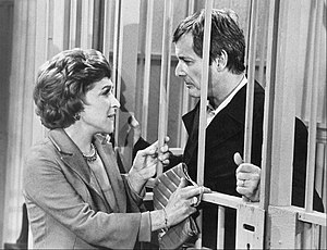 The Nancy Walker Show - Nancy Walker and William Daniels as Nancy and Ken Kitteridge.