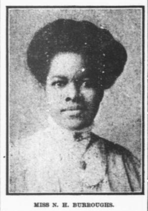 Nannie Helen Burroughs - Image: Nannie Burroughs 1913