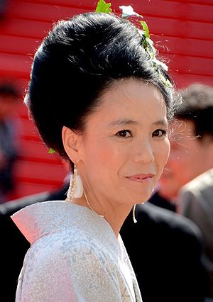 Naomi Kawase - Naomi Kawase at the 2014 Cannes Film Festival.