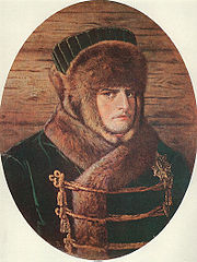 Napoleon in winter clothing