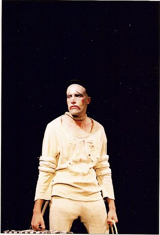Lucky (Waiting for Godot) - Mehdi Bajestani, as Lucky, (from a production by Naqshineh Theatre).