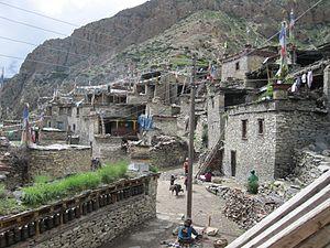 Nar, Nepal - A settlement in Nar VDC