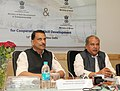 Narendra Singh Tomar addressing at the signing ceremony of an MoU between Ministry of Skill Development & Entrepreneurship and the Ministry of Mines and Steel for cooperation on Skill Development.jpg
