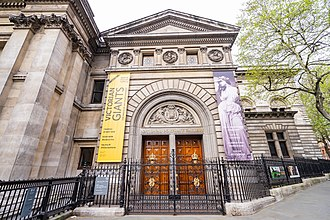 National Portrait Gallery, London - The gallery's main entrance in 2018