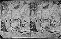 Navajoe Indians. Canyon de Chelle. Squaw weaving blankets. Arizona 1873 - NARA - 519791.tif