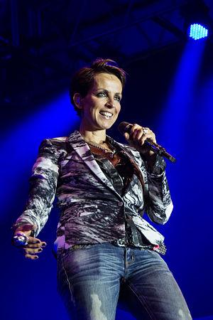 Nena discography - Nena at the 50th Havelfest in Brandenburg an der Havel in 2013.