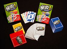 4 decks of nertz llc card game.