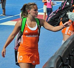 Kelly Jonker - Image: Netherlands v Poland Eurohockey 2015 (20636072508)
