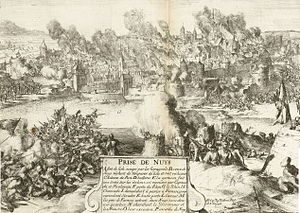 Destruction of Neuss