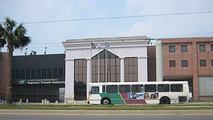 New Orleans Regional Transit Authority - RTA building on Canal Street
