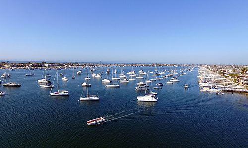 Newport Harbor Yacht Moorings