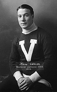 Newsy Lalonde Ice hockey and lacrosse player
