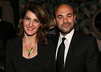 Ian Gomez - Gomez with then-wife Nia Vardalos in 2012
