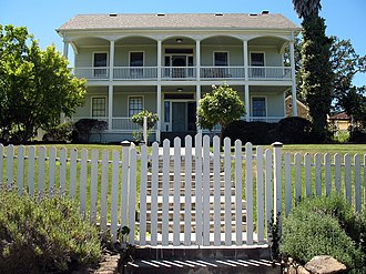 National Register of Historic Places listings in Sonoma County, California - Image: Nicholas Carriger Estate, 18880 Carriger Rd., Sonoma, CA 6 12 2010 2 29 07 PM