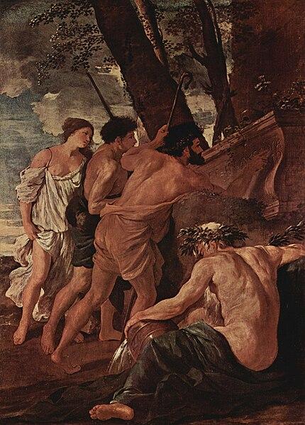 File:Nicolas Poussin - Et in Arcadia ego (première version).jpg
