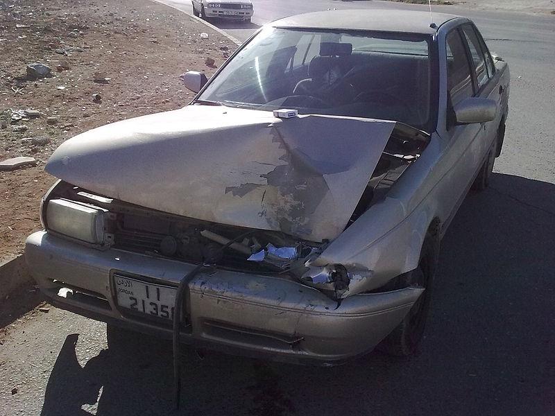 File:Nissan Sunny car accident.jpg