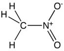 Struktur von Nitromethan