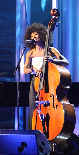 Esperanza Spalding - Spalding performing on December 10, 2009, at the Nobel Peace Prize Concert of 2009.