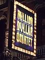 Noel Coward Theatre - St Martins Lane, London - Million Dollar Quartet - sign (6444137793) (2).jpg