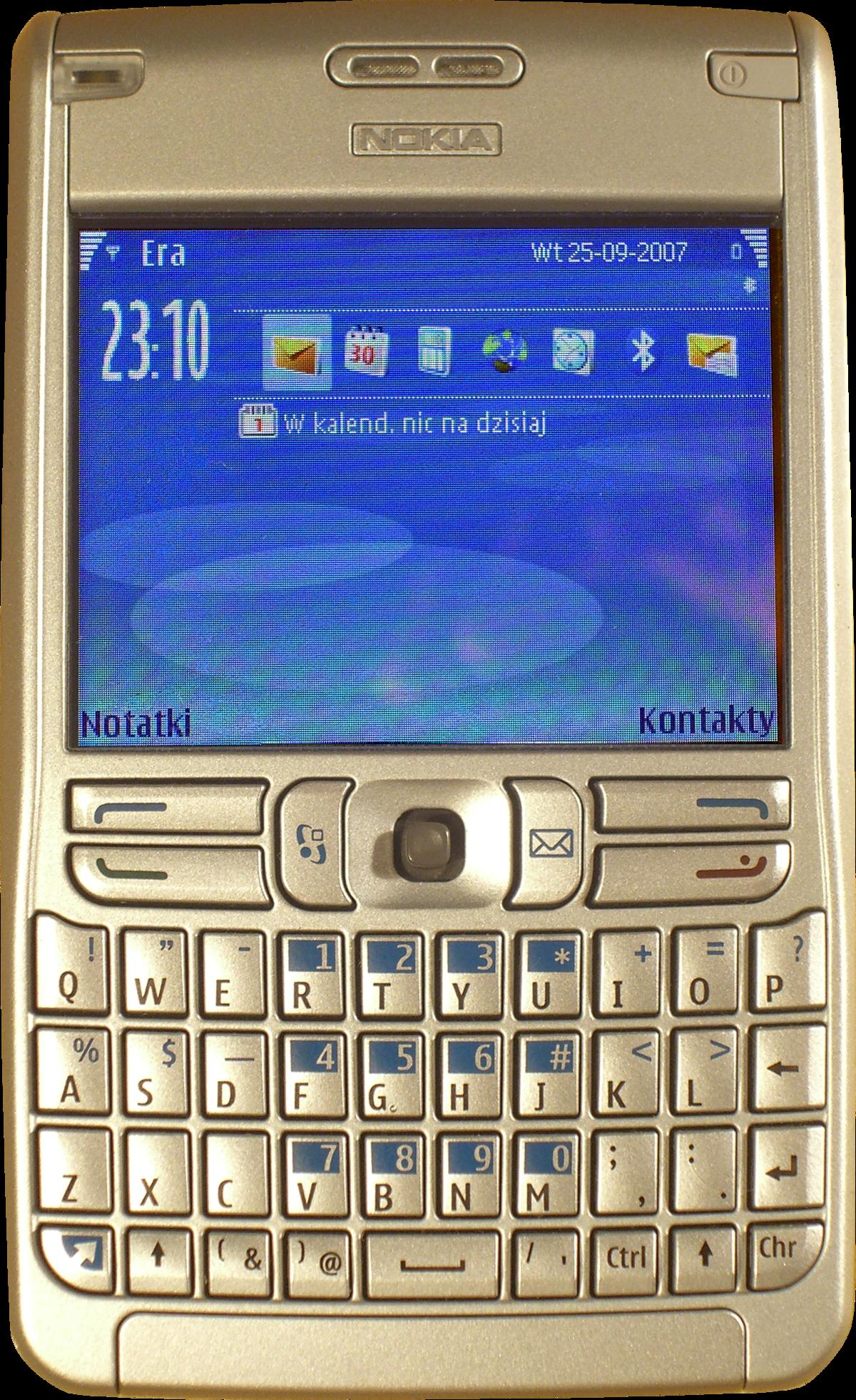 Nokia E61 – Wikipedia, wolna encyklopedia